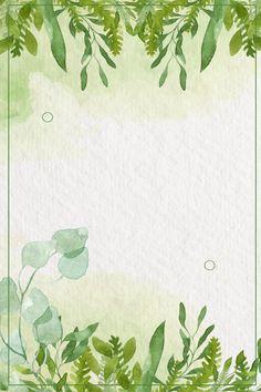 أجمل إطارات Word باللون الأخضر 10
