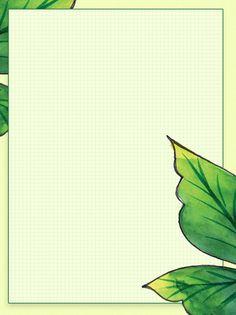 أجمل إطارات Word باللون الأخضر 9