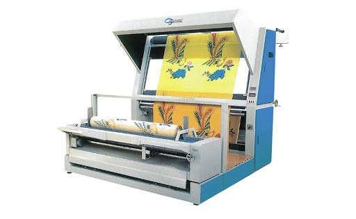 ماكينة فحص القماش ولف الرولة R303